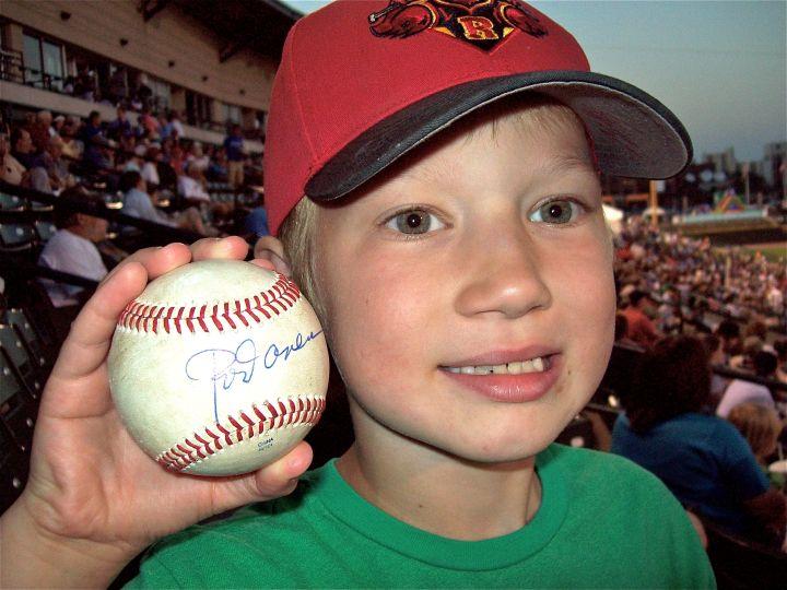 Josiah's first autograph