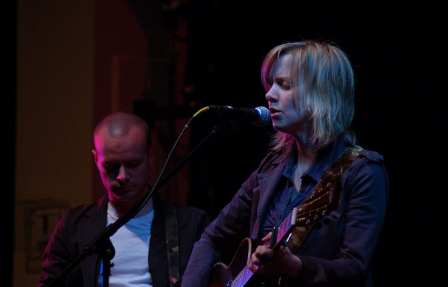 Sandra McCracken and Derek Webb